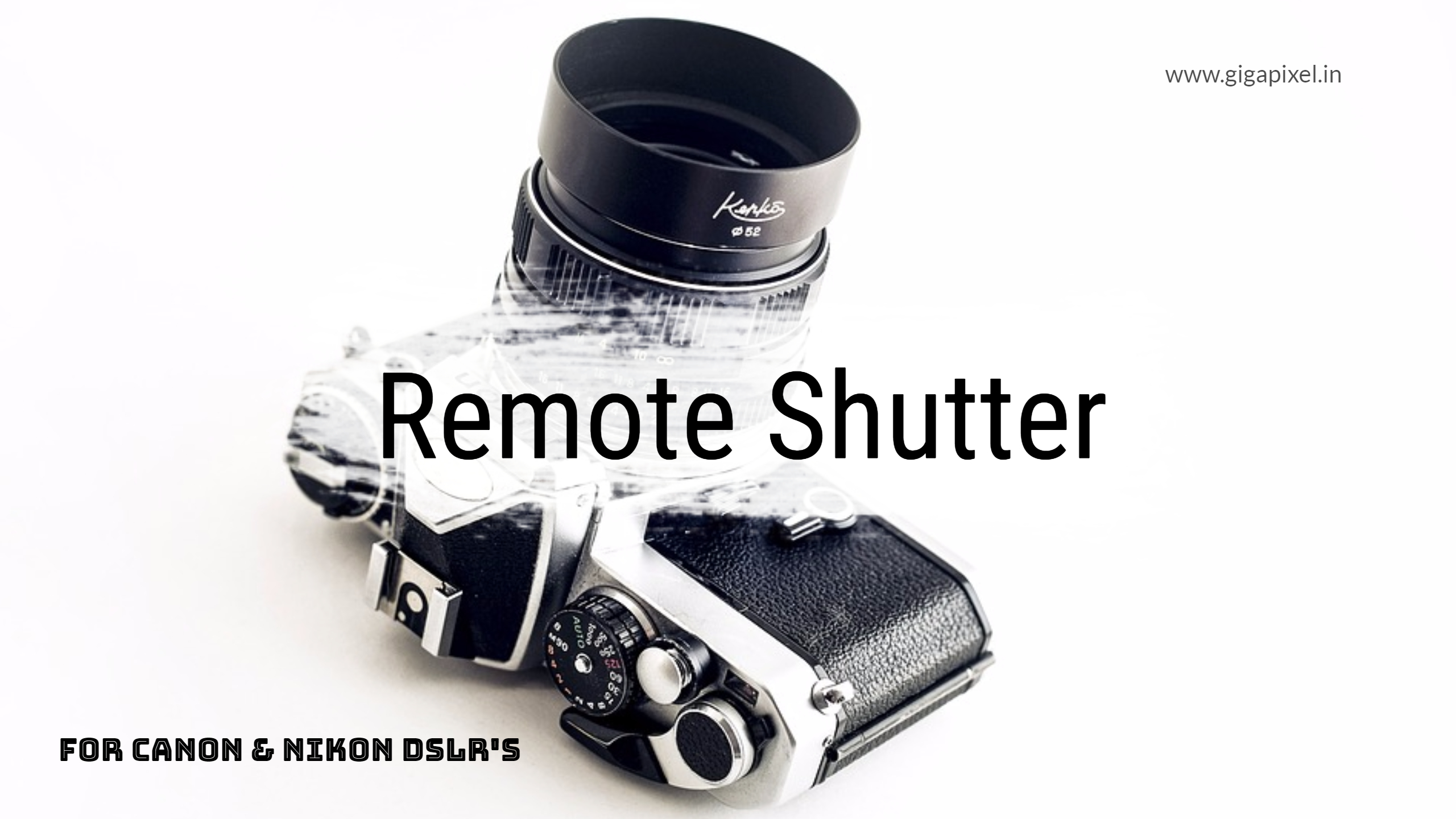 Wireless Remote Shutter Release For Canon