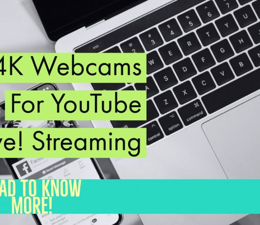 Top 4K Webcams For Zoom YouTube Streaming or Professional Needs