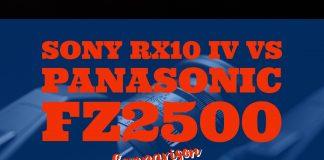 Sony RX10 IV vs Panasonic FZ2500