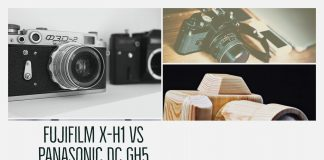 Fujifilm X-H1 vs Panasonic DC GH5