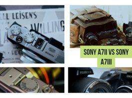 Sony A7II vs Sony A7III