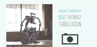 Mirrorless Cameras With Built-in Image Stabilization