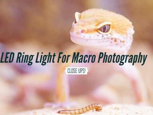 LED Ring Light For Macro Photography