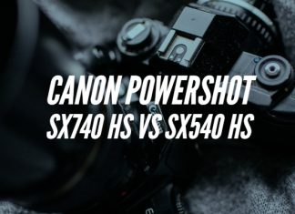 Canon PowerShot SX740 HS vs SX540 HS