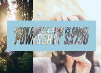 Nikon Coolpix A900 vs Canon Powershot SX730