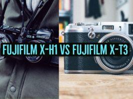 Fujifilm X-H1 vs Fujifilm X-T3