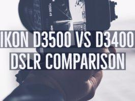 Nikon D3500 vs D3400