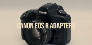 Canon EOS R Adapters