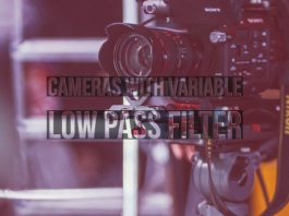 Cameras With Variable Low Pass Filter