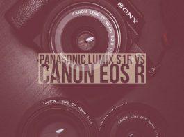 Panasonic Lumix S1R vs Canon EOS R