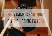 Sony Cameras Without Anti-Aliasing Filters