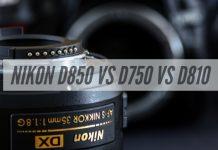 Nikon D850 vs D750 vs D810