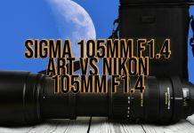 Sigma 105mm F1.4 Art vs Nikon 105mm F1.4