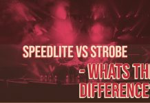 Speedlite vs Strobe - Whats the Difference?
