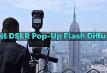 Best DSLR Pop-Up Flash Diffuser