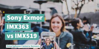 Exmor IMX363 vs IMX519