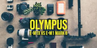 Olympus E-M1X vs E-M1 Mark II