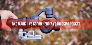 RX0 Mark II vs GoPro Hero 7 vs DJI Osmo Pocket