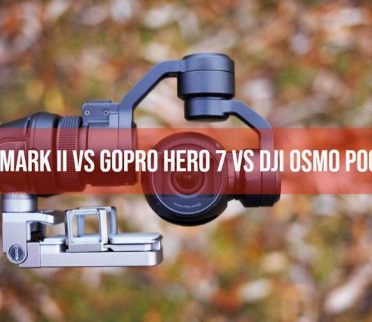 RX0 Mark II vs GoPro Hero 7 vs DJI Osmo Pocket