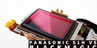 Panasonic S1H vs Blackmagic Pocket 6k vs Sony A7R