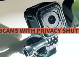 Webcams with Privacy Shutter