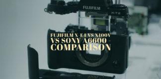 Fujifilm X-E4 vs X100V vs Sony A6600