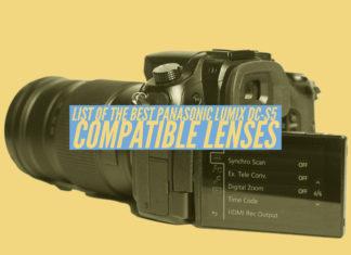 List of the best Panasonic Lumix DC-S5 Compatible Lenses